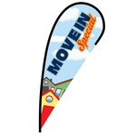 Move In Special Flex Blade Flag - 12'