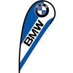 BMW Flex Blade Flag - 12'